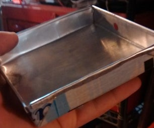 Watertight Metal Container. (no Sealant Needed)