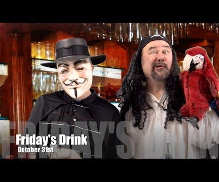 Make a Guy Fawkes Martini For Halloween