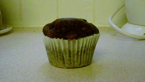 My Mum's Delicious Chocolate Muffins.