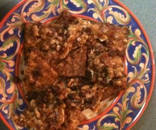 Chocolate Bacon Matzo Brittle