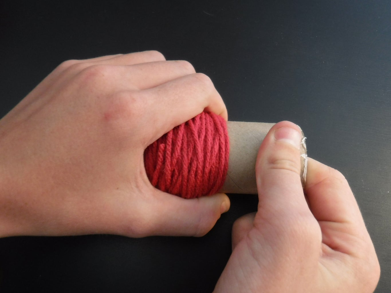 Removing Yarn From Guide