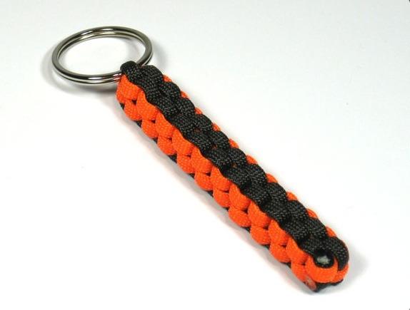 Paracord Box Knot Keychain