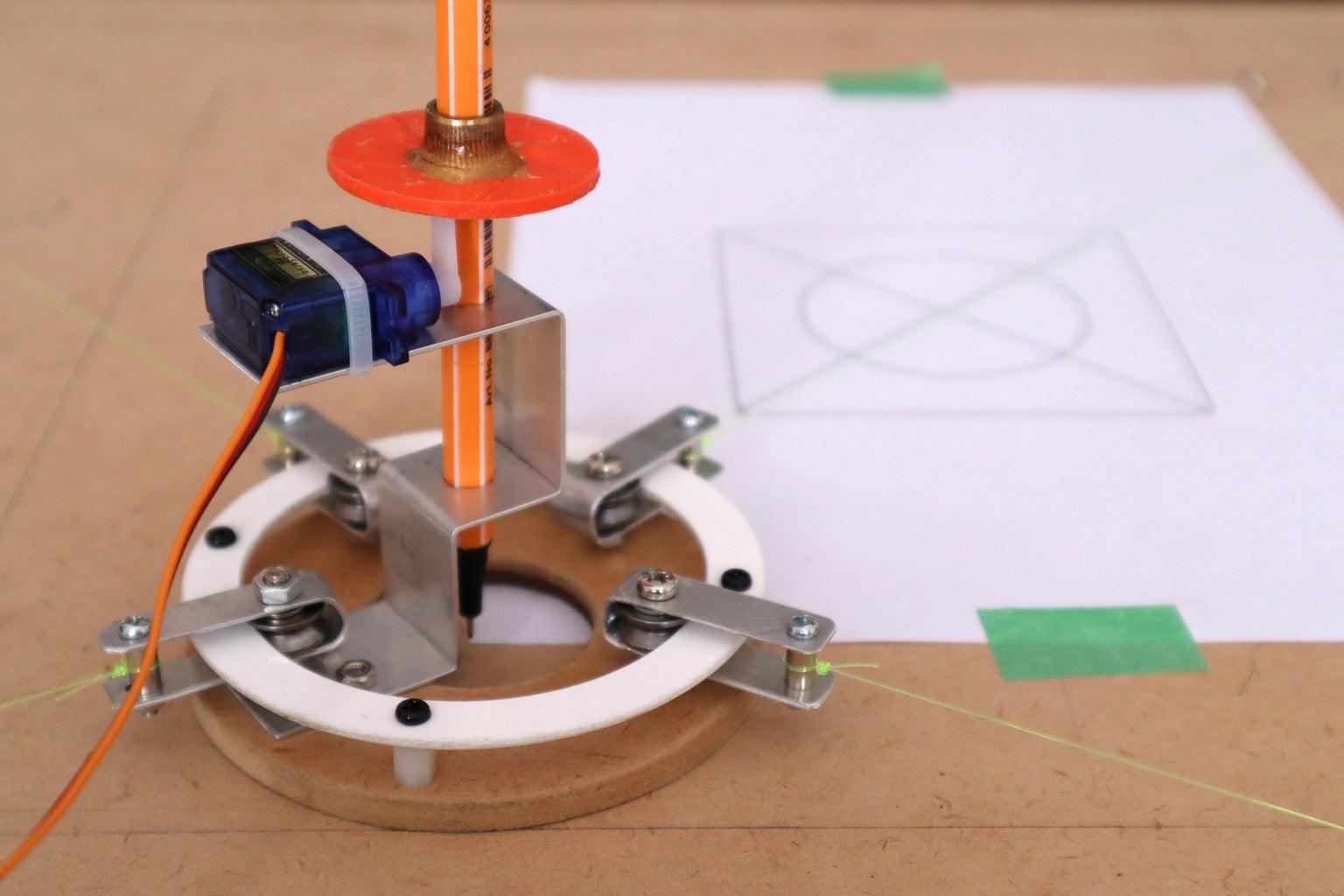 4-Wire Horizontal Plotter Design Notes