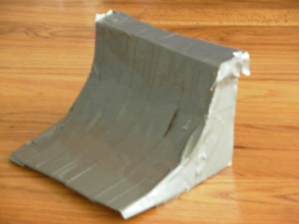 How to Make a Tech Deck Quarter Pipe