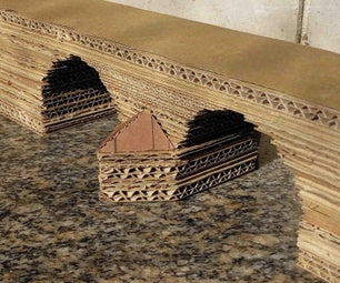 分层纸板游戏地形