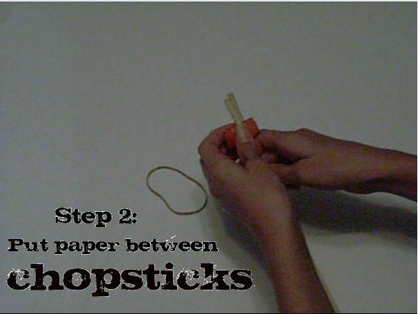 How to Make Chopsticks Easier to Use