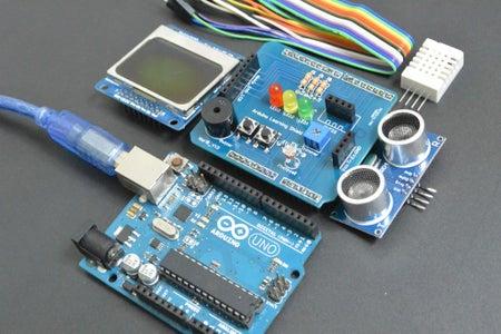 DIY Arduino Starter Kit Shield
