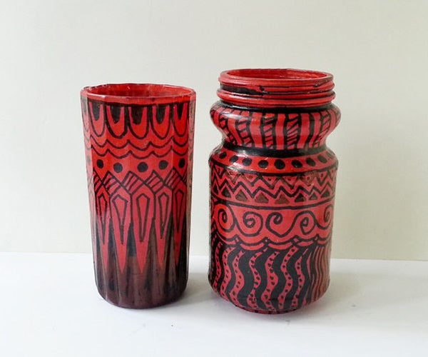 DIY Artistic Vase
