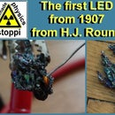 Make the first LED from 1907 - H.J. Round