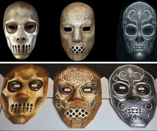 How to Contruct and Paint a Death Eater Mask