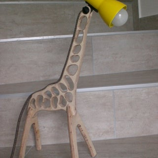 Giraffe Lamp