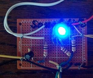 One Transistor Sound Light
