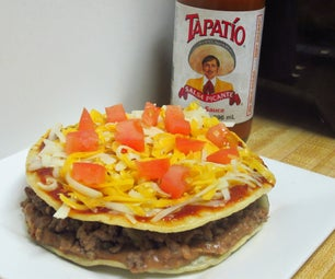 1 UP Taco Bell's Mexican Pizza