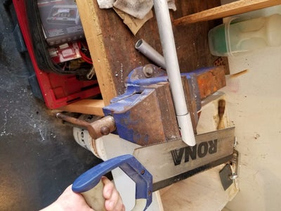 Step 2: Assemble the Handle and Blade Coupling