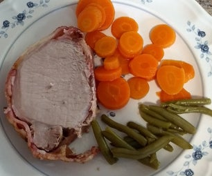 Bacon Encrusted Porkloin