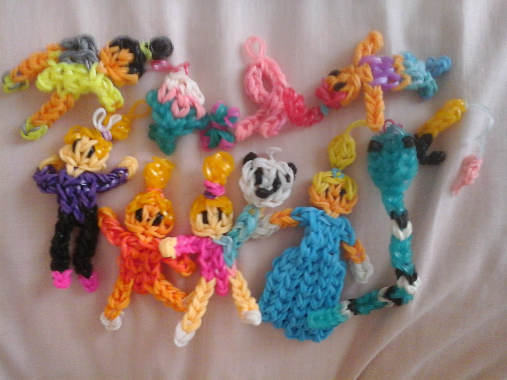 Some of my loom charms tell me if you want tutorials