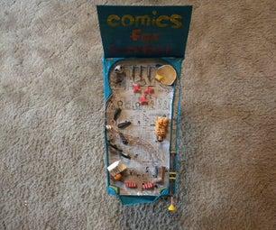 Pinball Machines: Themed Comics for Breakfast