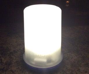 1W LED Lantern Using 2 AA Batteries