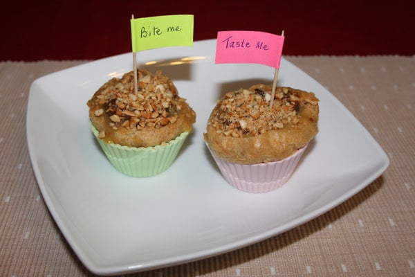 Choux Pastry Cup Cake