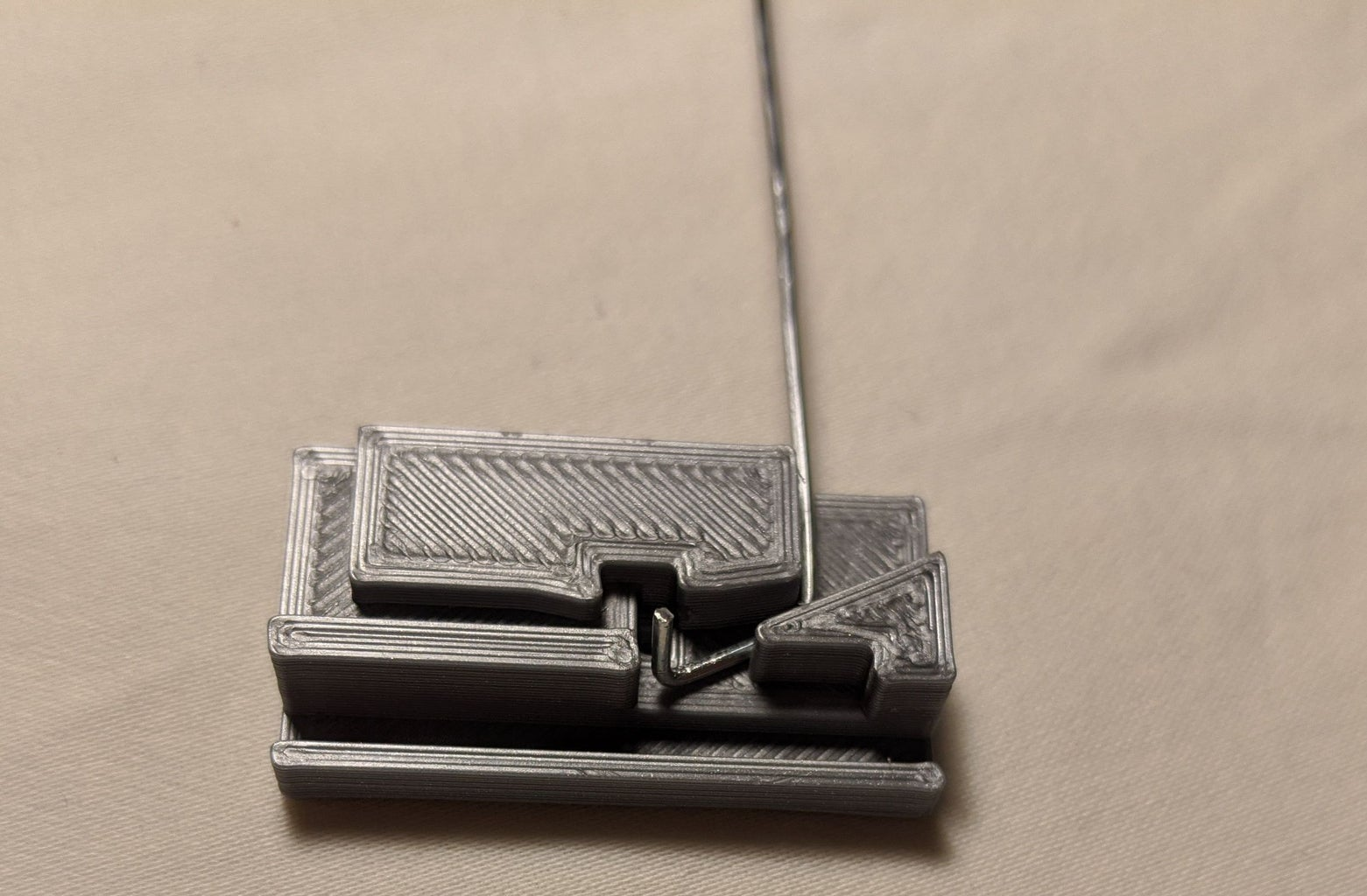 Shape the Pivoting (Left-side) Paperclip