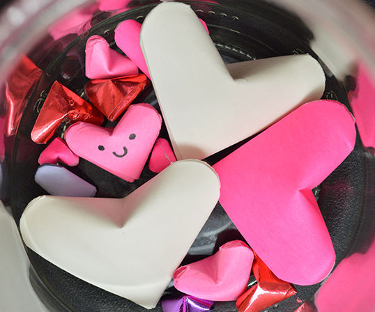 How to Make Paper Lucky Hearts