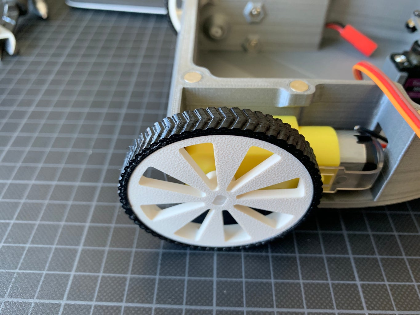 Front Wheels and Electronics