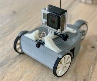 RC FPV-Trike With Rear Steering Wheel