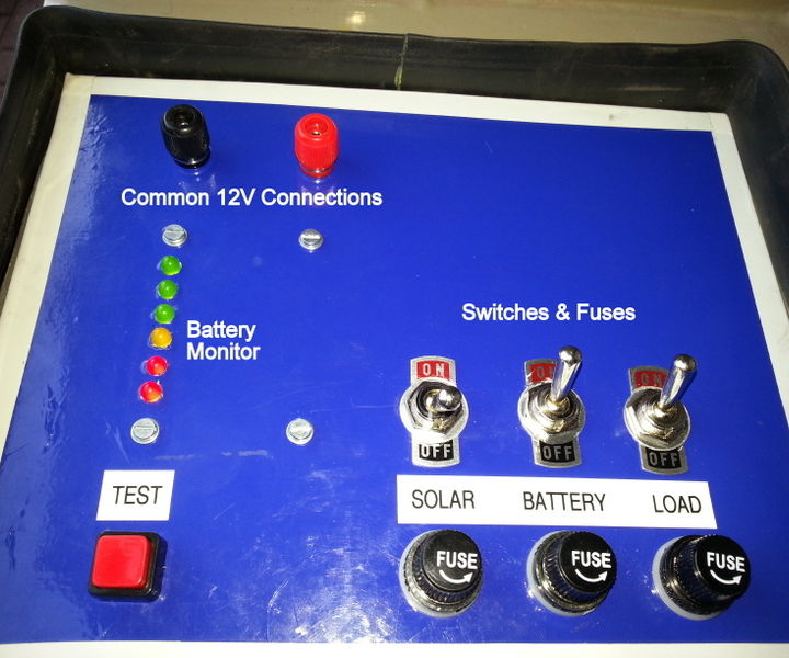 12V Battery State Of Charge Indicator