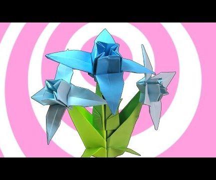 Origami Edelweiss Flower + Stem