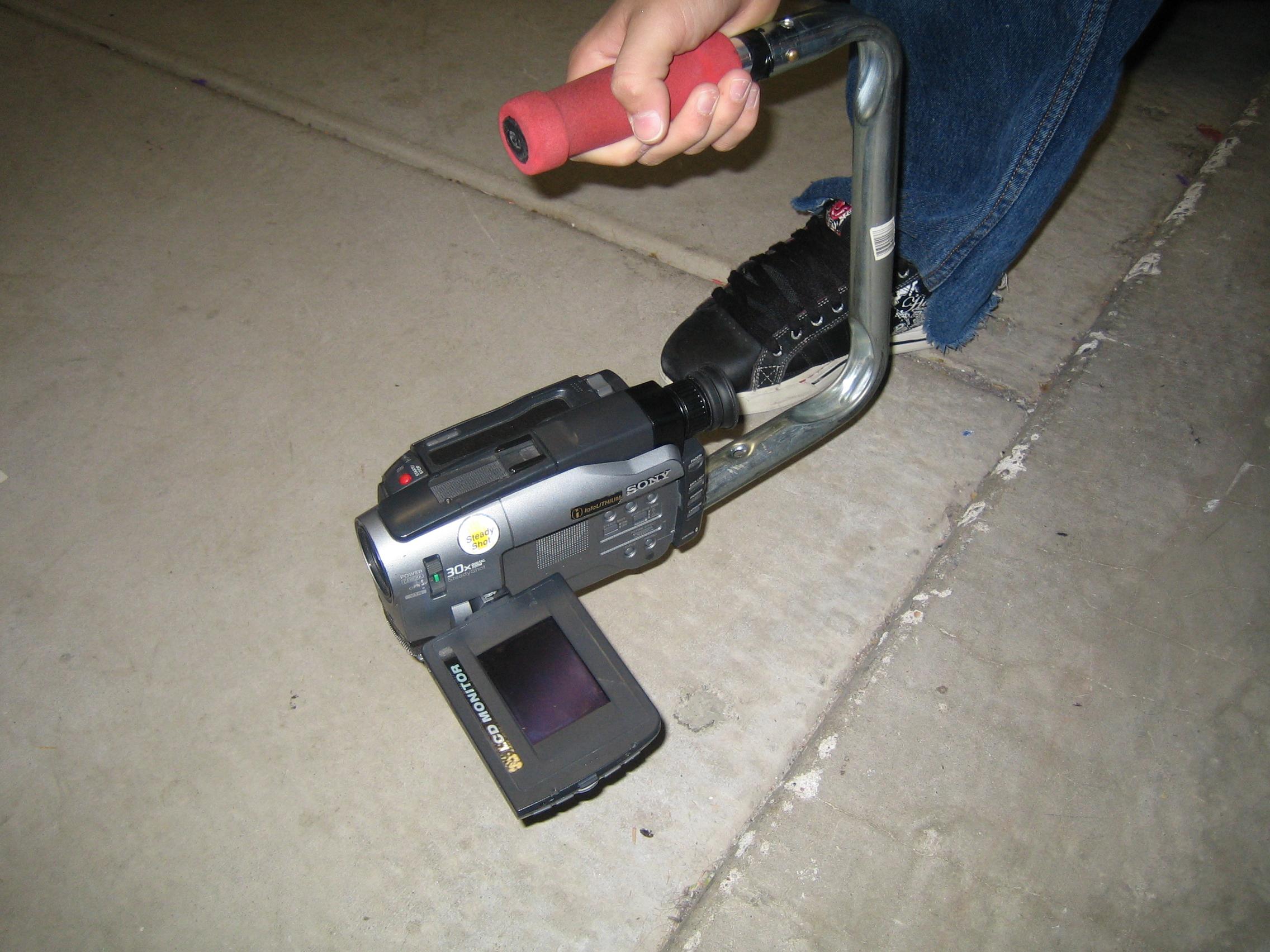Skaters Camera Handle