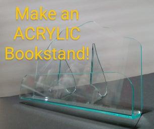 Make an Acrylic Bookstand