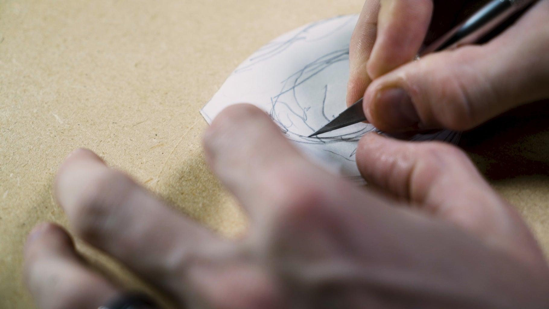 Cut Out a Paper Pattern