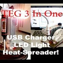 DIY Portable Generator 3-In-One (Electricity From Heat)
