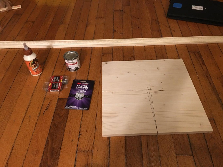 Wood Dice Tray