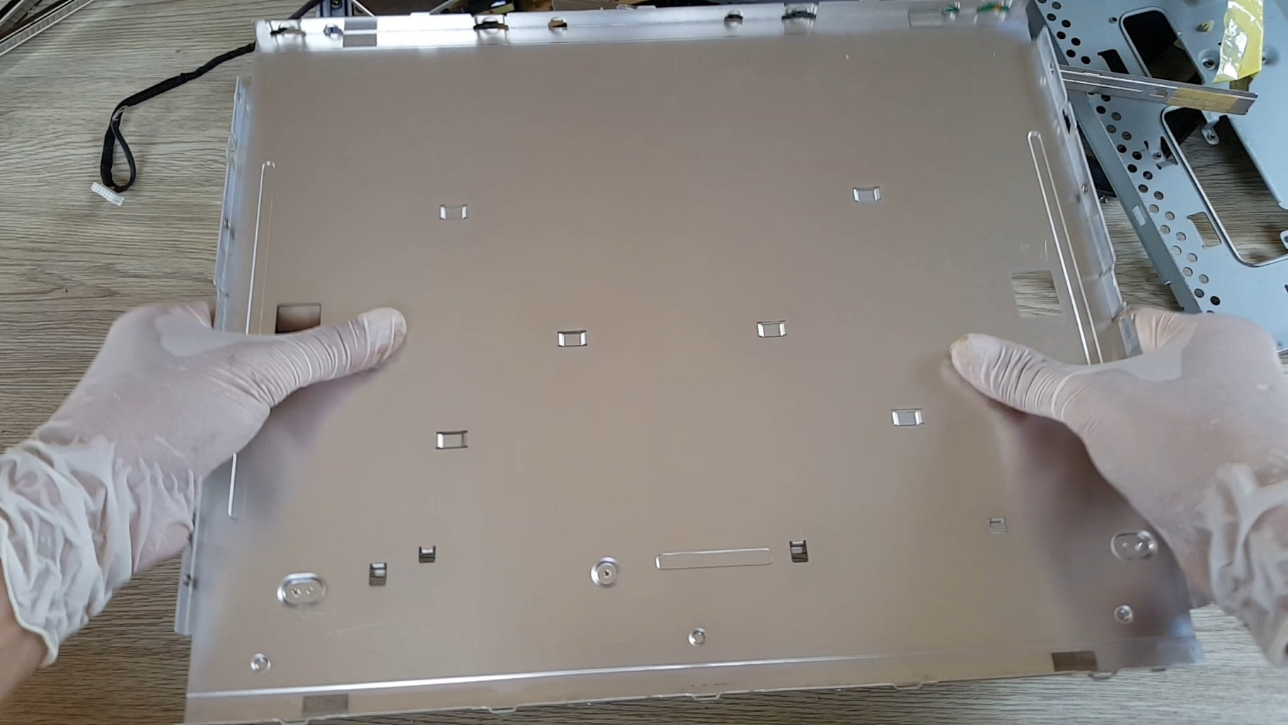 This Aluminum Plate Will Mount the Leds Up