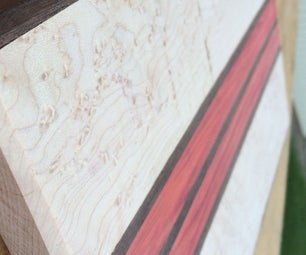 The Beautiful Cutting Board....I Ruined