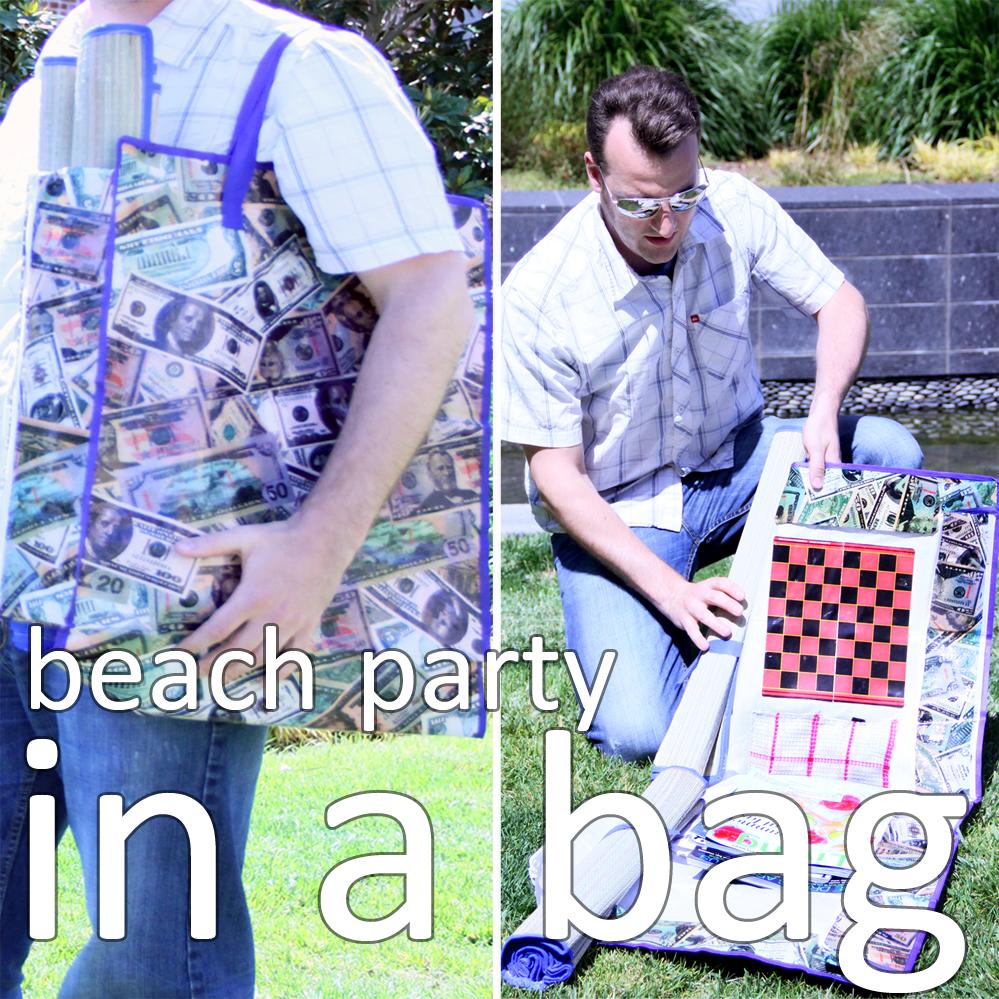 beach party in a bag