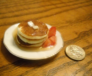 Itty Bitty Pancake Breakfast
