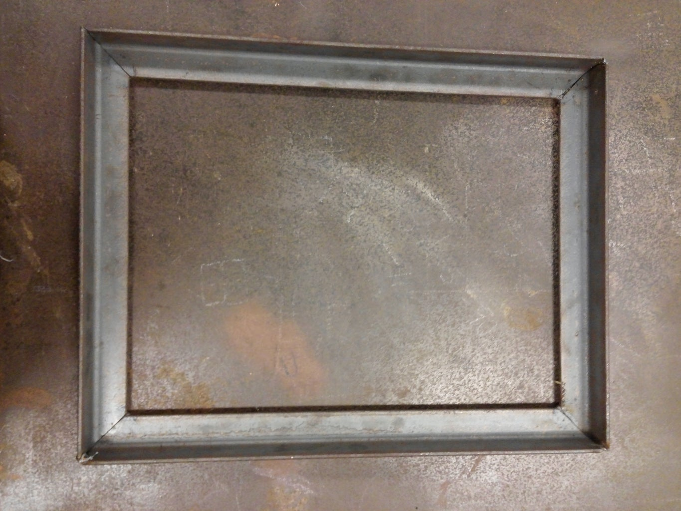 How to Do Metal Miter Joints (making Picture Frame)