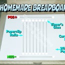 Make a Breadboard for Electronic Circuits - Papercliptronics