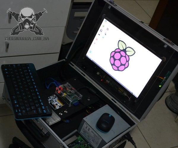 "Raspberry PI 007 ""James BOld"" Hackbox"