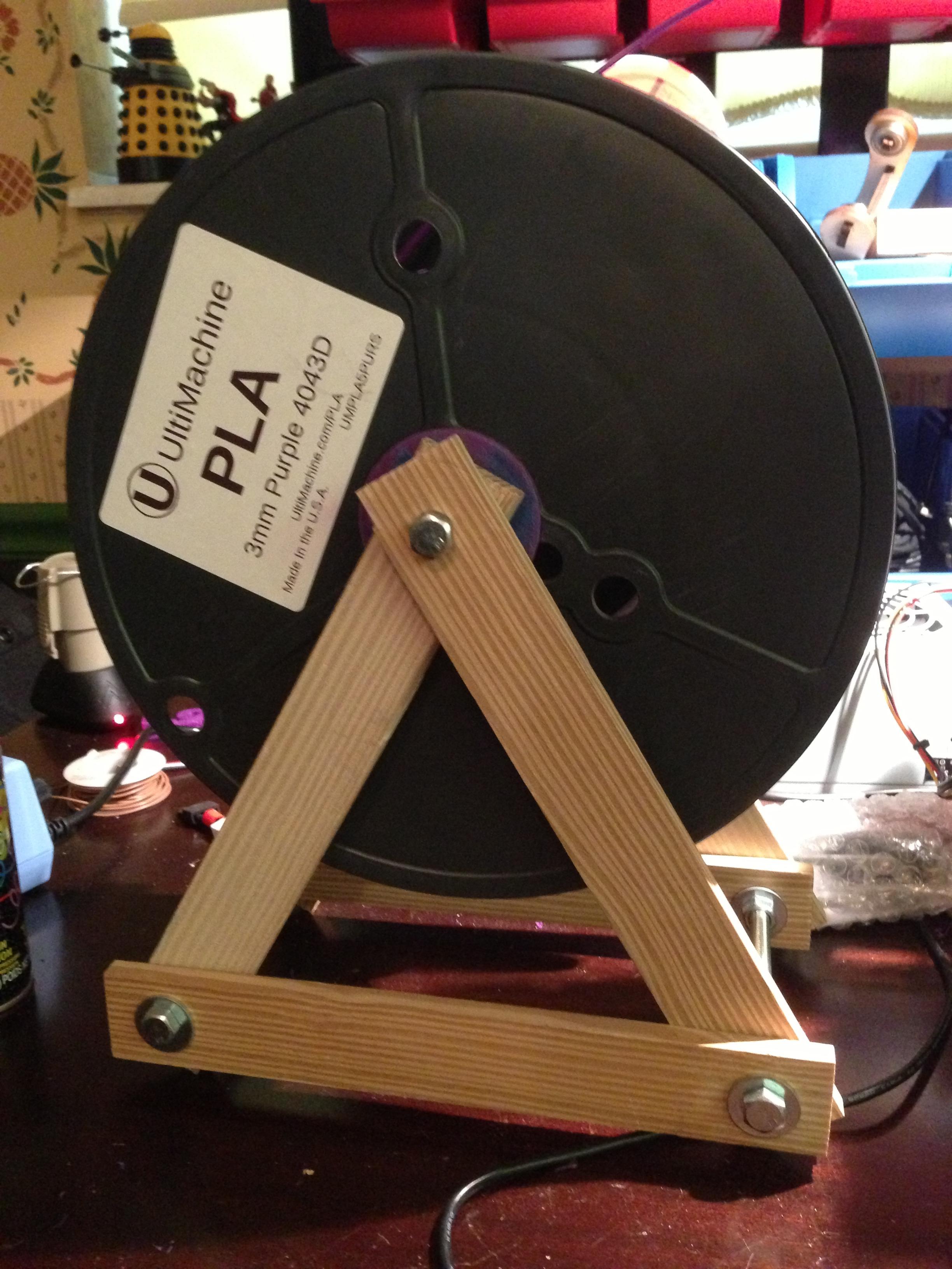Make a 3D Printer Filament stand