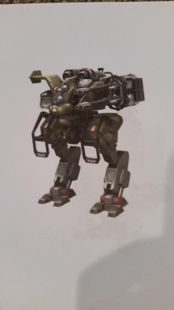 Simple K'nex War Robots Cossack