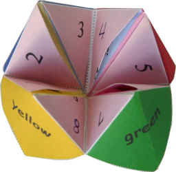 Old Skool Fun from Back in the Day: Origami Fortune Teller