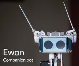 EWON Raspberry Pi Powered Home Robot