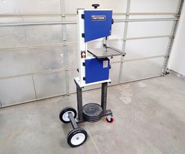 Weld a Simple Mobile Bandsaw Stand