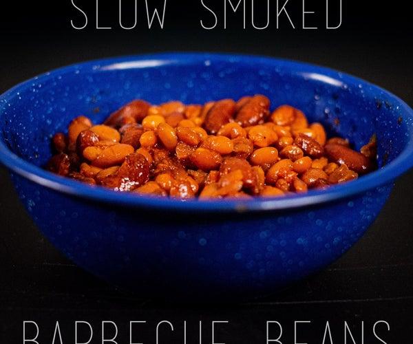缓慢熏烤箱豆