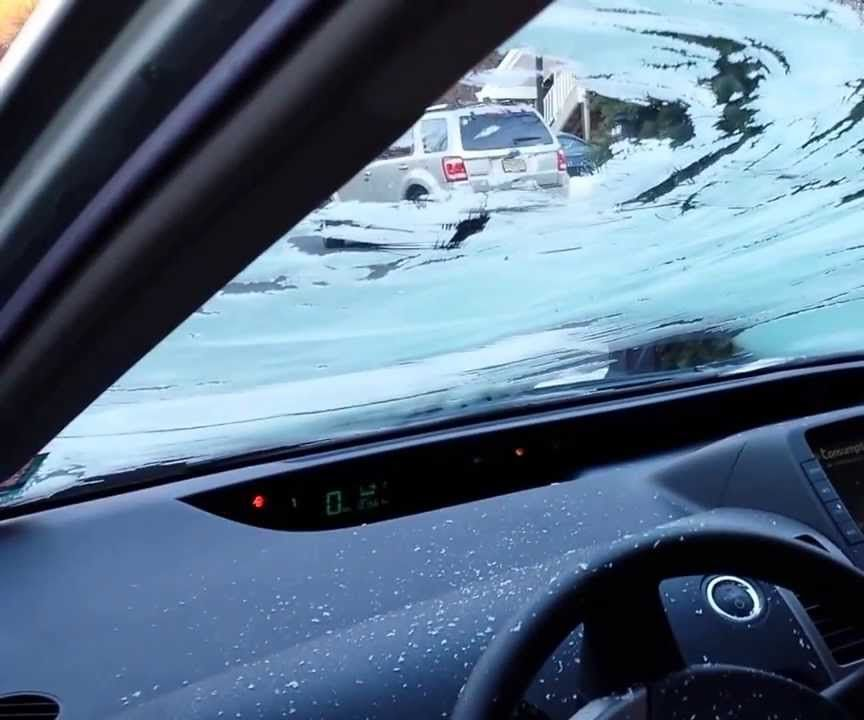 Prevent frost inside your car