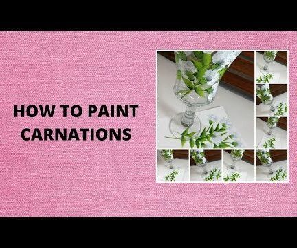 HOW TO PAINT CARNATIONS