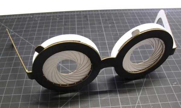 Paper Iris Glasses